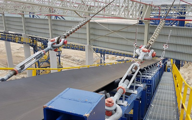 SCR Balingian Coal Stockyard Coal Handling System